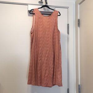 Mini pink dress